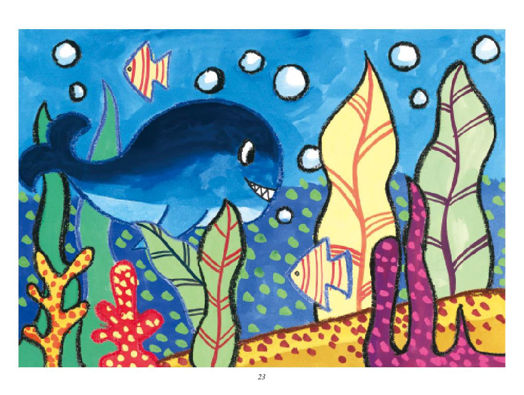 正版全3册新编儿童绘画入门教程少儿水粉画人物动物风景篇零基础学