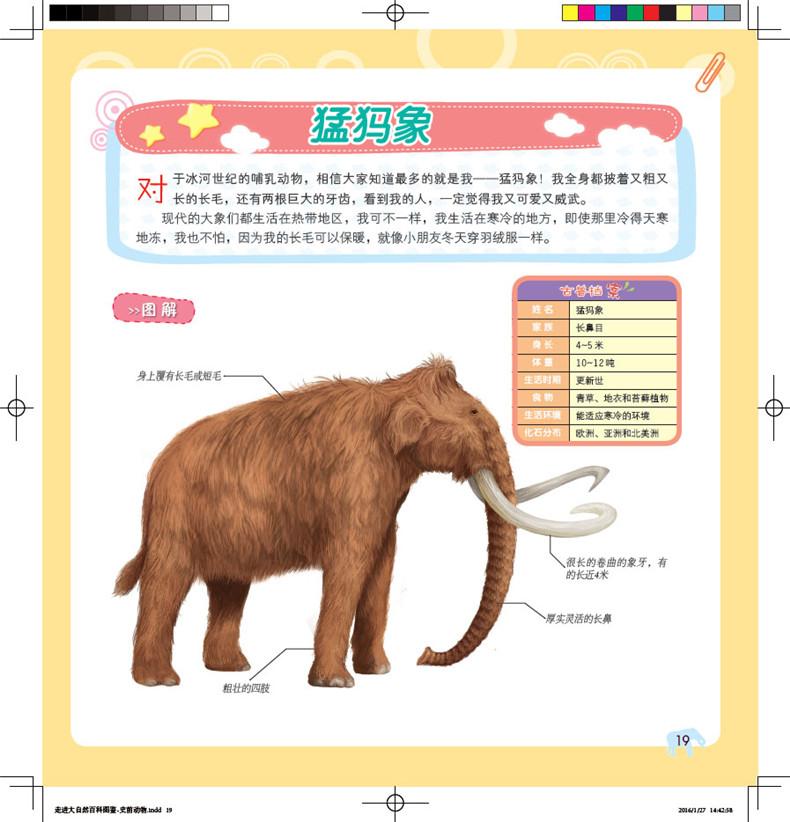 史前动物 董枝明 9787122253149