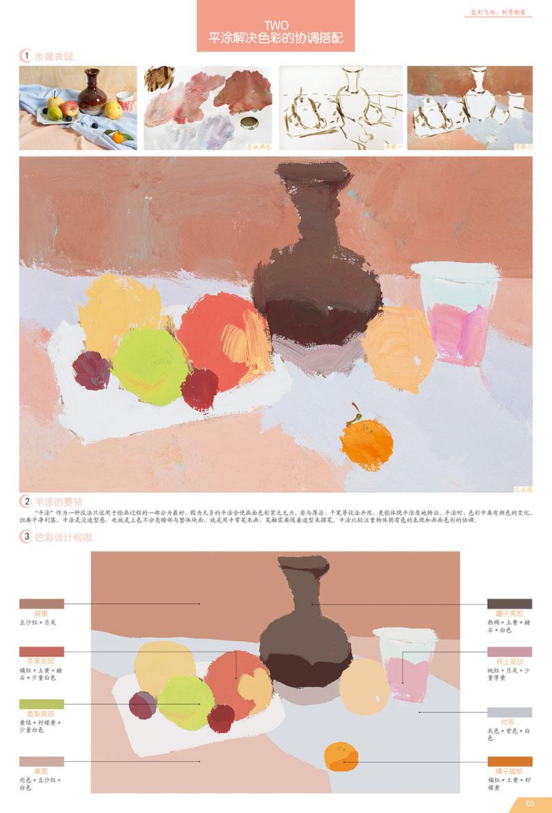 水果色彩搭配设计